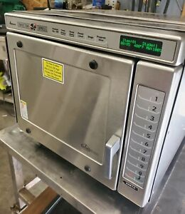 Amana Convection Express Ace14 Hi Speed Countertop Commercial Oven Microwave