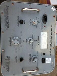 Tempo Instruments Inc 1110 Cable Fault Locator Free Fast Ship