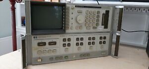 Hp 8510a Network Analyzer With Genuine If display Cable Read Description