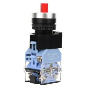 0 87in Knob Switch 22mm 3 Position Contactors Electromagnetic Starters