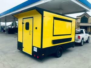 New Food Trailer Catering Concession 12 X 8 5 Fully Equipped