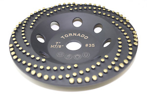 Tornado 7 Diamond Cup Grinding Removing Disc Wheel For Any Concrete With Cdb Ne