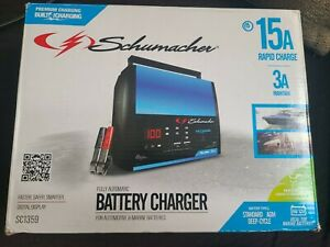 Schumacher Fully Automatic Battery Charger Maintainer