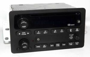 Chevy S10 Pickup Truck Radio 02 Am Fm Cd Player W Auxiliary Mp3 Ipod Input Un0