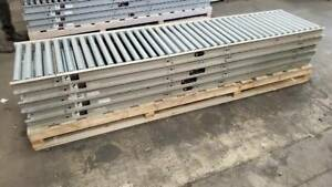 27 Oaw Gravity Roller Conveyor X 50 1 9 Rollers 3 Centers 24 Bf