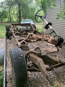 1949 1950 1951 Mercury Frame Rolling Chassis