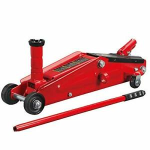 Torin Hydraulic Trolley Service Floor Jack With Extra Saddle Fits Suvs Extended
