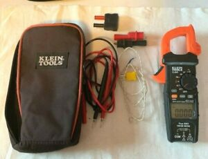 Klein Tools Cl800 Ac dc True Rms Auto ranging Digital Clamp Meter And Kit