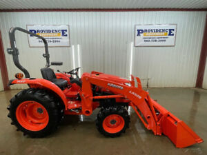2019 Kubota L2501 4wd Orops Tractor With La525 Loader Arms