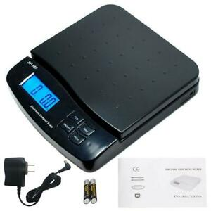 66lb X 0 1oz Digital Weigh Packaging Shipping Postal Scale W Ac Adapter battery