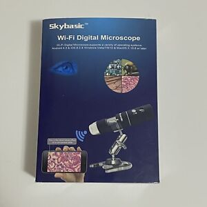 Skybasic 1000x Microscope Wifi Camera Handheld Zoom Magnifier New