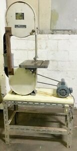 Rockwell 14 Vertical Band Saw wood