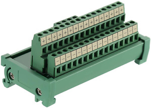 Anmbest 2 In 16 Out Terminal Blocks Module 25a Din Rail And Panel Mounting Powe