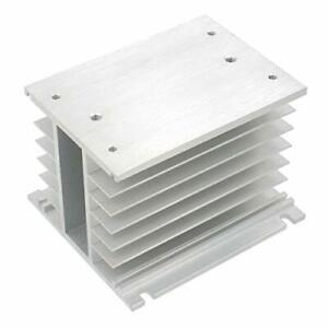 Baomain Heat Sinks Aluminum For 3 Phase Solid State Relay 110mm X 100mm X 80mm