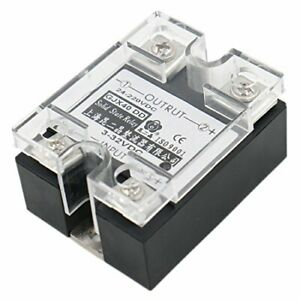 Baomain Ssr 40dd 40a Signal Phase Dc Solid State Relay Dc 3 32v Dc 24 220v