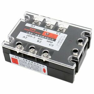 Baomain 3 Phase Solid State Relay Jgx 3340a 3 32 Vdc Input 480vac 40 Amp Outp