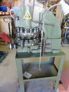 Diacro Turret Punch 12 Station Punch Press tooling Di acro Whitney