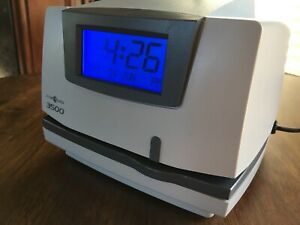 Pyramid 3500 Time Clock And Document Stamp Brand New free Shipping