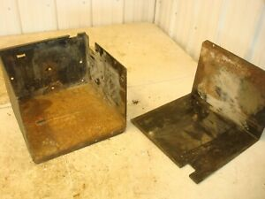 New Holland Ts110 Tractor Battery Box Tray Cover