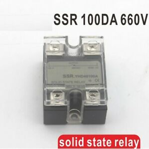 100da Ssr High Voltage Single Phase Solid State Relay Current Dc Output 48 660v
