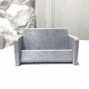 Marble Sofa Couch Business Card Holder Display Stand Desk Organizer 3d Print