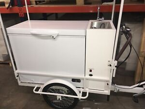 refrigerated E bike From Cold To Frozen Foods Ice Cream Drinks