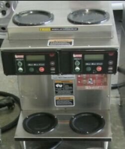 Bunn Commercial Coffee Maker Axiom 2 2 Twin 38700 0096 Free Shipping Working