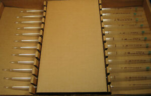 Pyrex 15 Ml Volumetric Pipets X12 Class a New Old Stock Free Shipping H