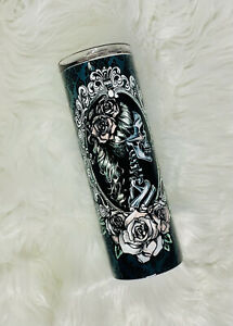 Cameo Skull Personalized Custom tumbler20oz Tumbler For Her Gifts For Her $27.00