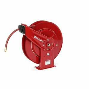 7650 Heavy Duty Spring Retractable Hose Reel Made With Reinforced Steel Long L