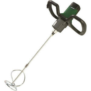 Light Electric Handheld Paddle 2 Speed Motor High Torque Cement Power Mixer Pro