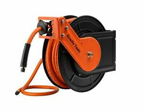 P hp 330 High Pressure Retractable Grease hydraulic Oil Hose Reel 3 8 I d 3