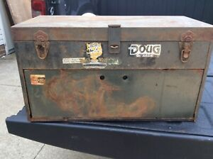 Vintage Military Snap On Tool Box Tool Chest 6 Drawer 1930s Or 1940 Or 1950i