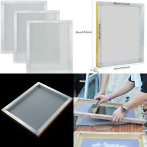 Caydo 3 Pieces 20 X 24 Inch Aluminum Silk Screen Printing Frames With 160 White