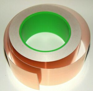 Copper Tape 2 Inch Wide Dual Conductivity Sold By The Foot Select Your Length