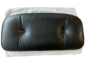 Herman Miller Eames 670 Lounge Chair New Black Headrest Leather