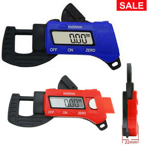 Electronic Digital Caliper Thickness Gage Gauge Width Measure Tools 0 12mm