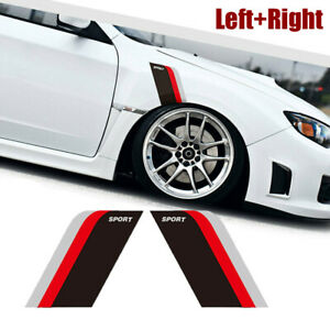 Car Accessories Sport Side Door Fender Racing Sticker Graphic Decal Car Stickers Fits Chevy