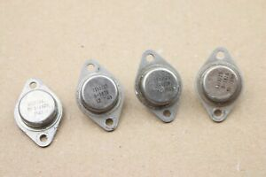 Lot Of 4 Vintage Transistor 1110715 S 1828 To 3