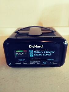 Diehard 12 Volt Battery Charger Engine Starter Fully Automatic 2 10 50 Amp