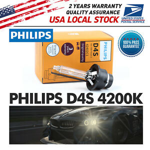 D4s Philips Oem Factory 4200k 42406 Hid Xenon Bulb For Lexus Toyota Dot Op4s Us Fits 6
