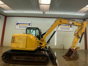2012 Cat 308e Cr Cab Excavator With A c And Heat
