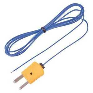 Reed Instruments Tp 01 Beaded Thermocouple Wire Probe Type K 40 To 482 f