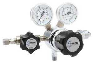 Harris Kh1039 Specialty Gas Regulator Single Stage Cga 320 0 To 125 Psi Use