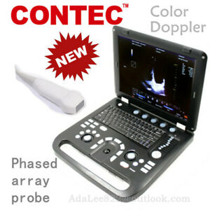 Color Doppler Ultrasound Free Cw Module Phased Array Probe Cardiology Specialty