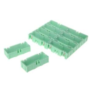 Mini Smd Smt Electronic Box Ic Electronic Components Storage Case 75x31 5x21 5mm
