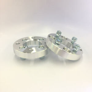 2 Wheel Spacers Adapters 4x108 To 4x108 4x4 25 1 2 Stud 38mm 1 5 Inch