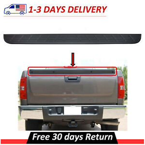 New Tailgate Top Protector Spoiler Cap Cover Fits 07 13 Chevy Silverado Sierra