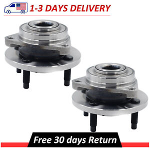 Pair 2 Front Wheel Hub Bearing Assembly Fits Chevy Cobalt Pontia G5 Saturn Ion