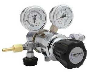 Harris Kh1017 Specialty Gas Regulator Two Stage Cga 320 0 To 50 Psi Use